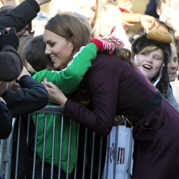 Kate Middleton à Newcastle en octobre 2012