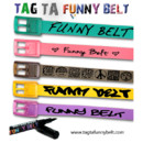 La ceinture Funny Belt de Mano and Co