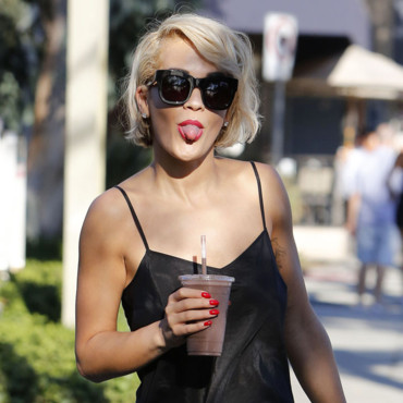 Rita Ora à Los Angeles le 18 septembre 2013