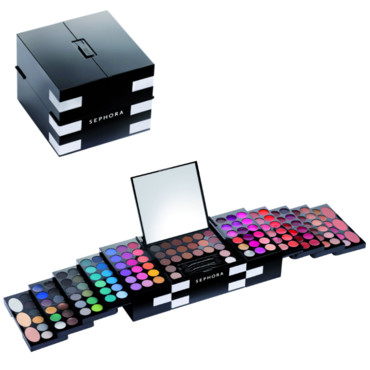 Color pop-up store, palette de maquillage, Sephora