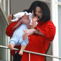 Photo : Michael Jackson et son fils Prince