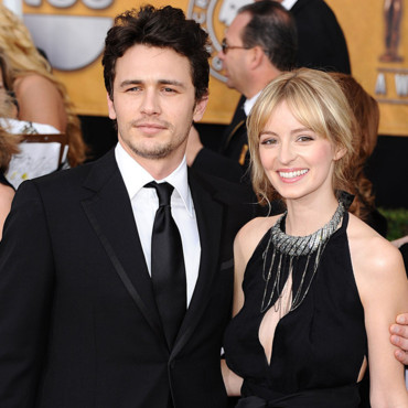 James Franco et Ahna Riley