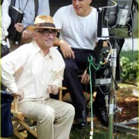 Photo : Matt Damon et Martin Scorsese