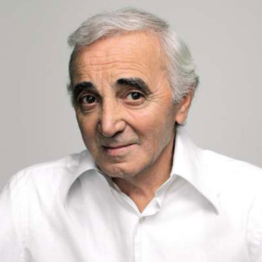 people : Charles Aznavour