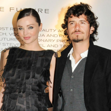 Miranda Kerr Orlando Bloom Vogue Party Fashion Week Milan septembre 2010