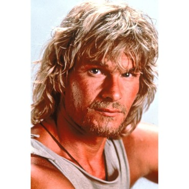 Patrick Swayze surfeur dans Point Break