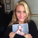 Cameron Diaz sans make-up Instagram