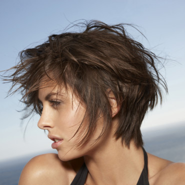 Coupe courte femme destructuree