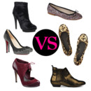 Chaussures plates VS talons