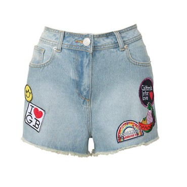 Short en jean régressif New Look, 29,99 euros