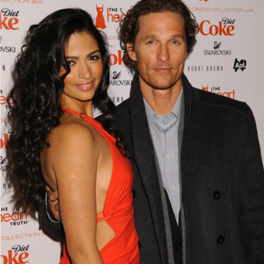 Matthew McConaughey et Camila Alves Mercedes Benz Fashion Week Fevrier 2011