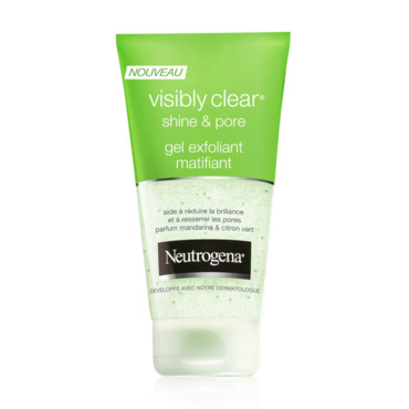 VISIBLY CLEAR Gel exfoliant matifiant Shine Pore