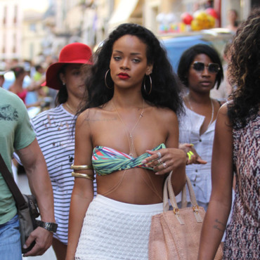 Rihanna  St Tropez