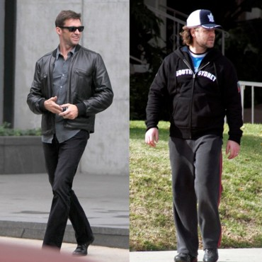 "Hugh Jackman vs Russell Crowe : Verdict ""Look au quotidien"""