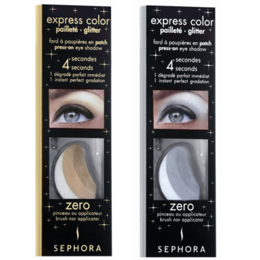 Fards Express Color pailletés, Sephora