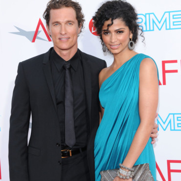 Matthew McConaughey et Camila Alves Tribute to Michael Douglas Juin 2009