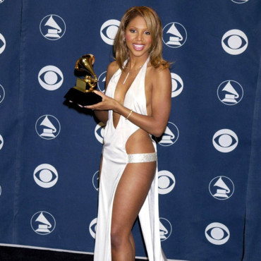 Toni Braxton aux Grammy Awards en 2001.