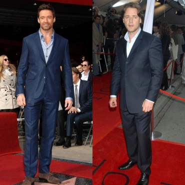 "Hugh Jackman vs Russell Crowe : Verdict ""Looks sur tapis rouge"""