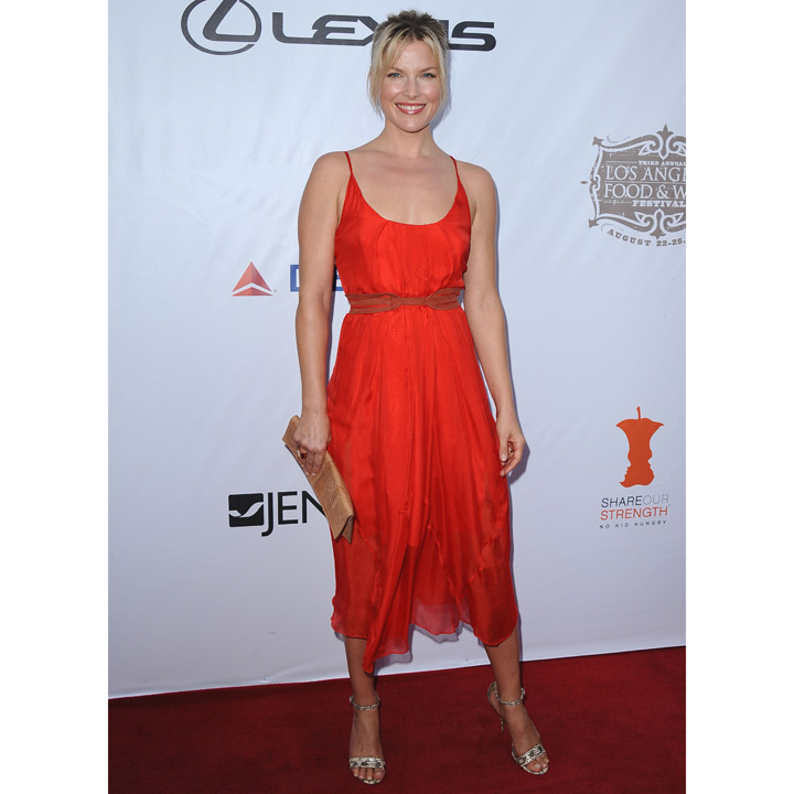 Ali Larter arrive au festival Food & Wine de Los Angeles le 22 août 2013