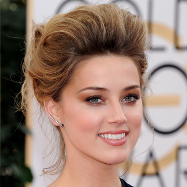 Amber Heard aux Golden Globes 2014 à Los Angeles le 12 janvier 2014