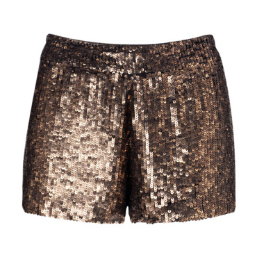 Short en sequins Stradivarius, 19,95 euros