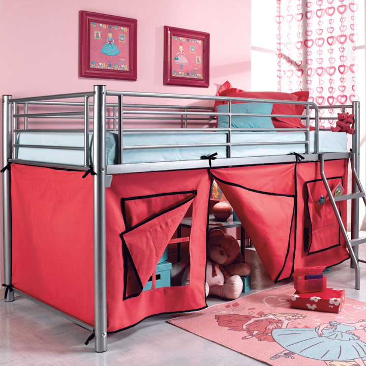 notre s lection de lits originaux pour enfants le lit tipi conforama d co. Black Bedroom Furniture Sets. Home Design Ideas