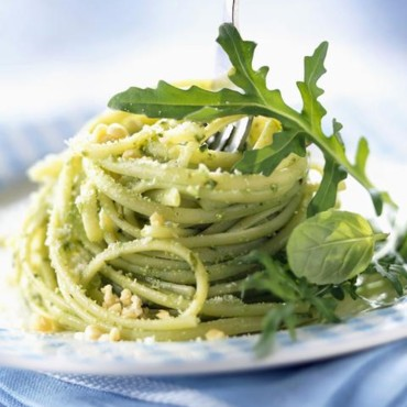 Linguine au pesto
