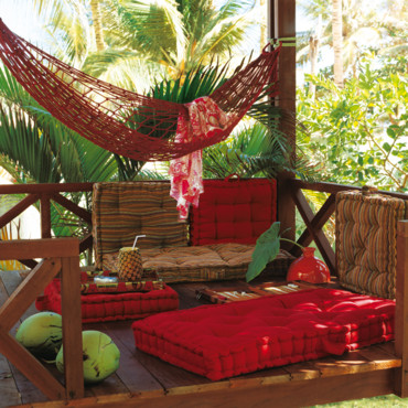 Tropical : le salon de jardin So Home
