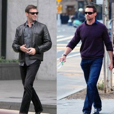 Hugh Jackman : son look au quotidien