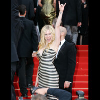 Photo : Avril Lavigne au Festival de Cannes 2006