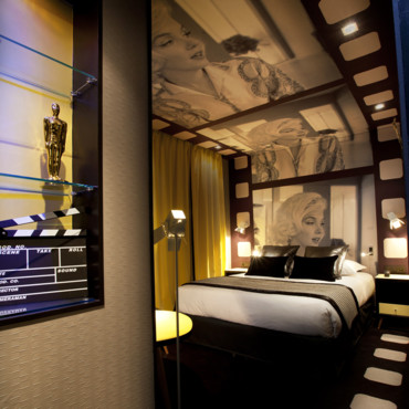 idee deco chambre hollywood