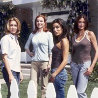 Photo : les Desperate Housewives : Felicity Huffman, Marcia Cross, Eva Longoria et Teri Hatcher