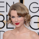 Taylor Swift aux Golden Globes 2014 à Los Angeles le 12 janvier 2014