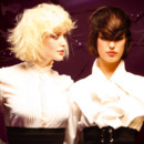 Coupes de cheveux Intercoiffure : 2006, Purple Rain duo