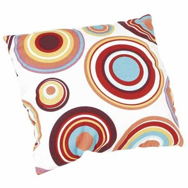 Coussin coco tropical déco multicolore Leroy Merlin