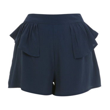 Short péplum Miss Selfridge, 38 euros