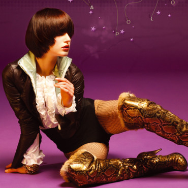 Coupes de cheveux Intercoiffure : 2006, Purple Rain