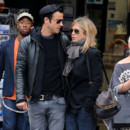 Justin Theroux et Jennifer Aniston