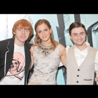 Photo : le célèbre trio de la saga Harry Potter