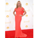 Heidi Klum en robe Zac Posen aux Emmy Awards le 25 août 2014 à Los Angeles
