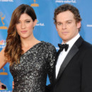 Jennifer Carpenter et Michael C. Hall de Dexter aux Emmy Awards 2010