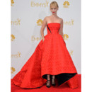 January Jones en robe Prabal Gurung lors des Emmy Awards le 25 août 2014 à Los Angeles