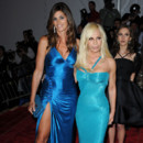Donatella Versace et Cindy Crawford