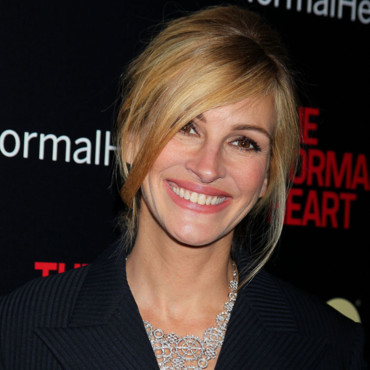 Julia Roberts lors de la première de The Normal Heart à New York le 12 mai 2014