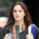Leighton Meester pour Gossip Girl à New York