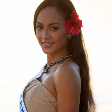 Miss Tahiti 2011 - Rauata TEMAURI - Candidate Election Miss France 2012