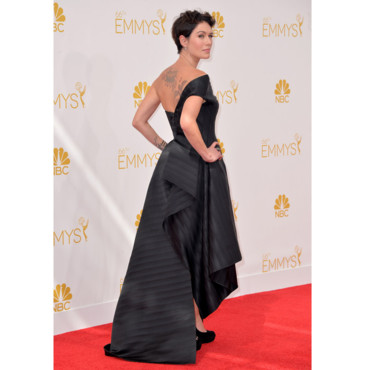 Lena Headey en robe Rubin Singer aux Emmy Awards le 25 août 2014 à Los Angeles