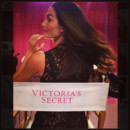 Lily Aldridge en backstage du défilé Victoria's Secret 2013 le 13 novembre 2013 à New York