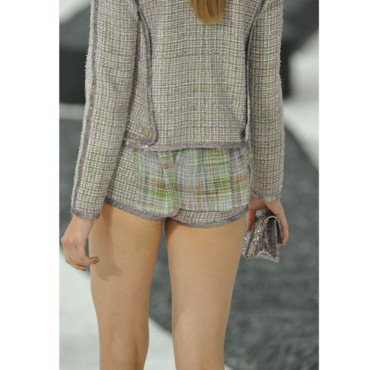 Le short d'été vu des podiums - Chanel