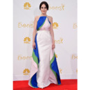 Michelle Dockery en robe Rosie Assoulin lors des Emmy Awards le 25 août 2014 à Los Angeles
